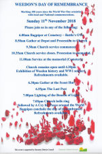 Weedon's Day of Remembrance